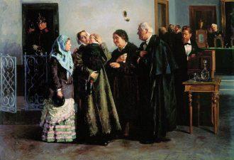 Владимир Маковский, «Оправданная», 1882 год