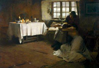 Фрэнк Брэмли «Безнадежный рассвет», 1888 год