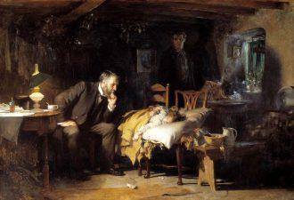 Сэмуэль Люк Филдс «Доктор», 1891 год