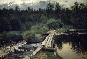 Исаак Левитан «У омута», 1892 год