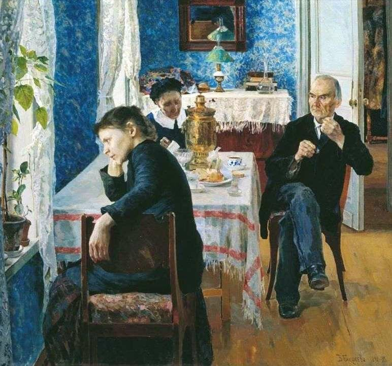 Василий Бакшеев «Житейская проза», 1893 год