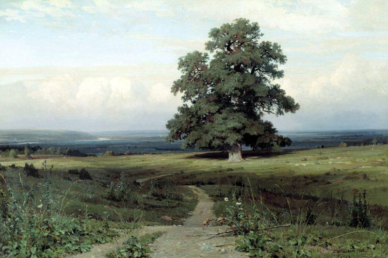 Иван Шишкин «Среди долины ровныя …», 1883 год