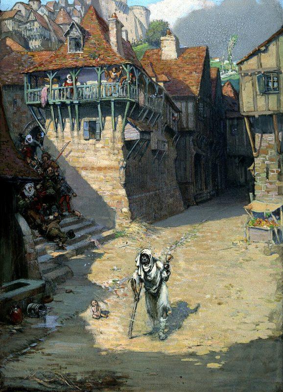 Ричард Теннант Купер, «Прокажённый», 1912 год