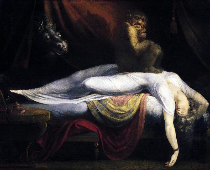 Генрих Фюссли «Кошмар», 1781 год