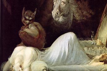 Генрих Фюссли «Ночной кошмар», 1790 год