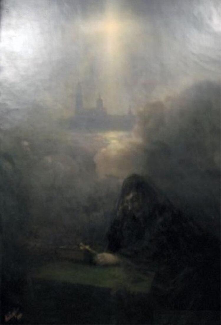 Иван Айвазовский, «На смерть Александра III», 1894 год