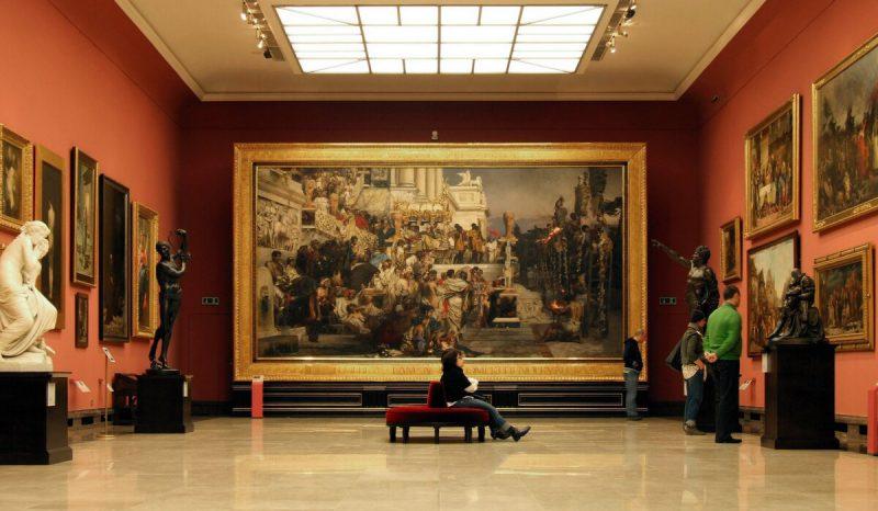 Картина Семирамидского в Национальном музее в Кракове