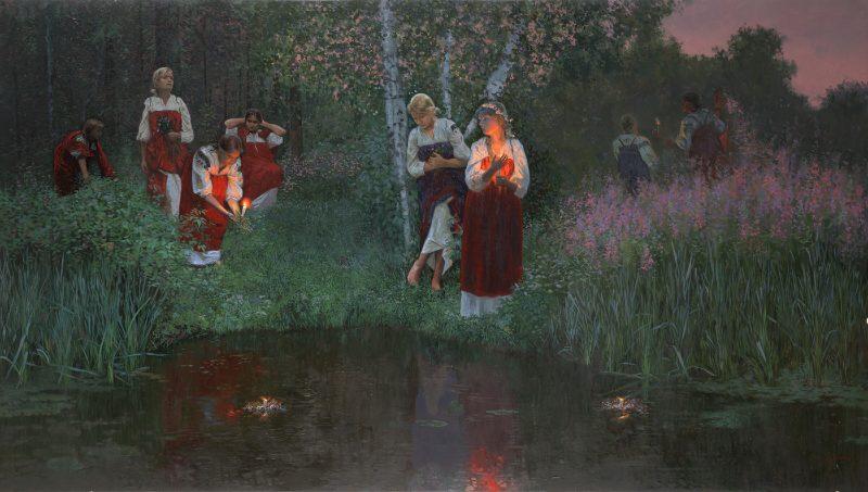 Семён Кожин «Гадание на венках», 2008 год