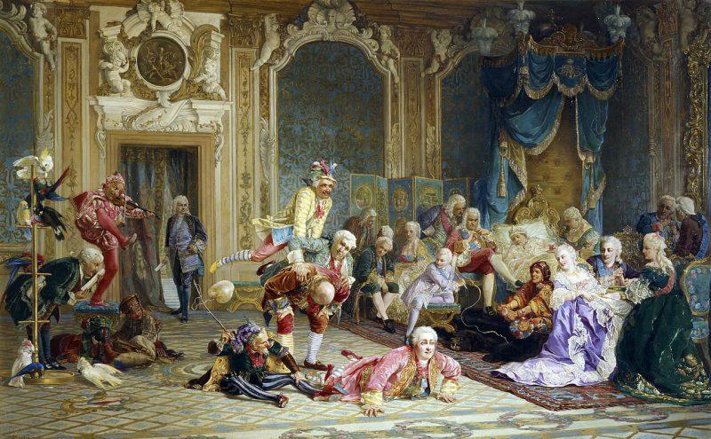 Валерий Иванович Якоби «Шуты при дворе императрицы Анны Иоанновны», 1872 год
