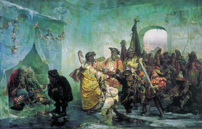 Валерий Якоби «Ледяной дом», 1878 год