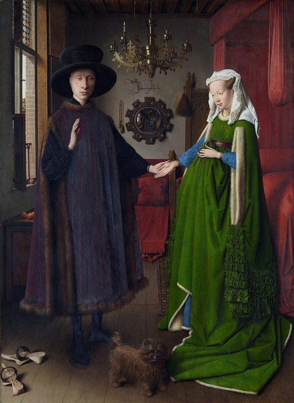 Ян ван Эйк «Портрет четы Арнольфини», 1434 год