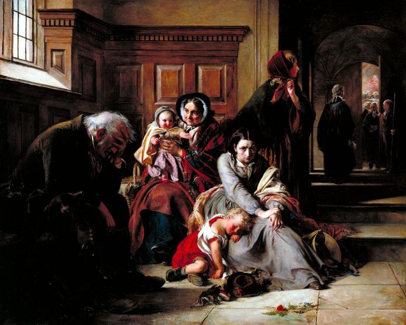 Авраам Соломон «В ожидании приговора», 1857 год