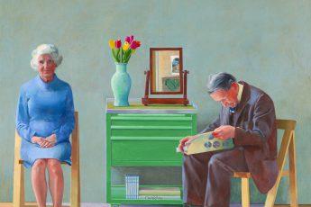 Дэвид Хокни «Мои родители», 1977 год