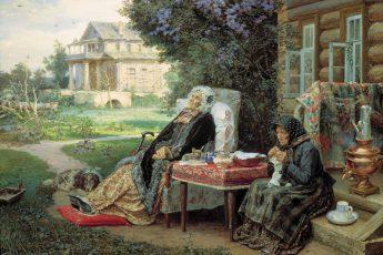 Максимов Василий «Всё в прошлом», 1889 год