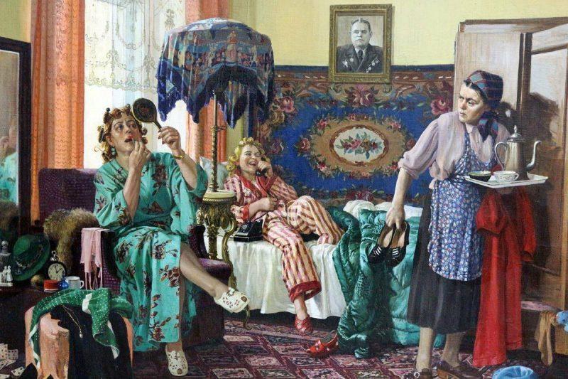 Раиса Зенькова «Трутни», 1954 год