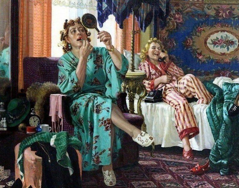 Раиса Зенькова «Трутни», фрагмент