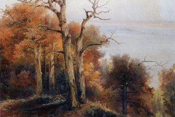 Алексей Саврасов «Осенний лес. Кунцево. Проклятое место», 1872 год