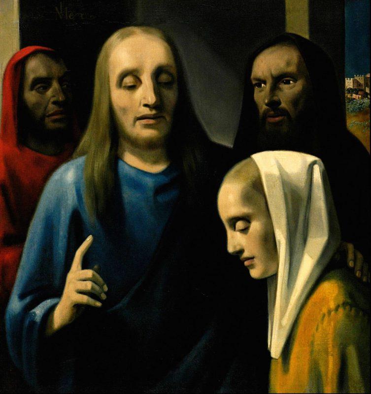 Хенрикюс Антониус (Хан) ван Мегерен «Христос и грешница», 1942 год