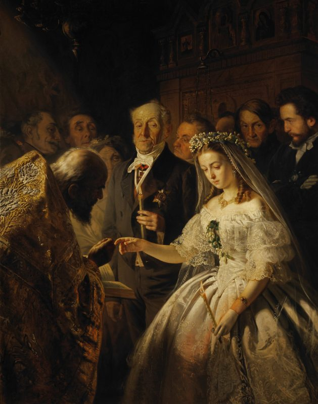 Василий Пукирев «Неравный брак», 1862 год