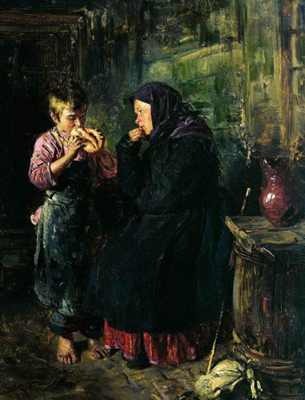 Владимир Егорович Маковский «Свидание», 1883 год