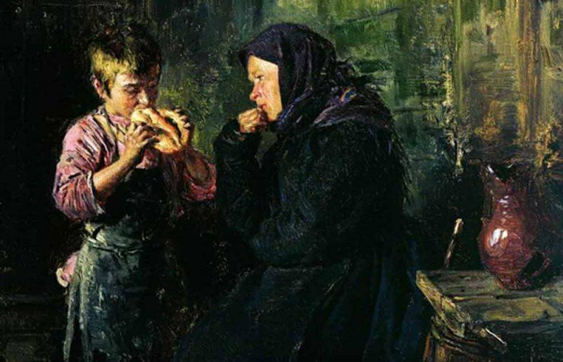 Владимир Егорович Маковский «Свидание», фрагмент