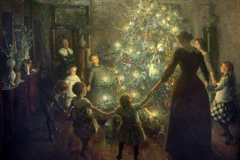 Вигго Юхансен «Светлое Рождество», 1891 год