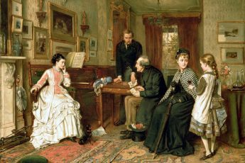 Джордж Гудвин Килберн «Бедные родственники» , 1875 год