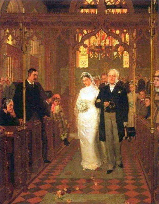 Эдмунд Блэр Лейтон «Пока смерть не разлучит нас», 1878 год