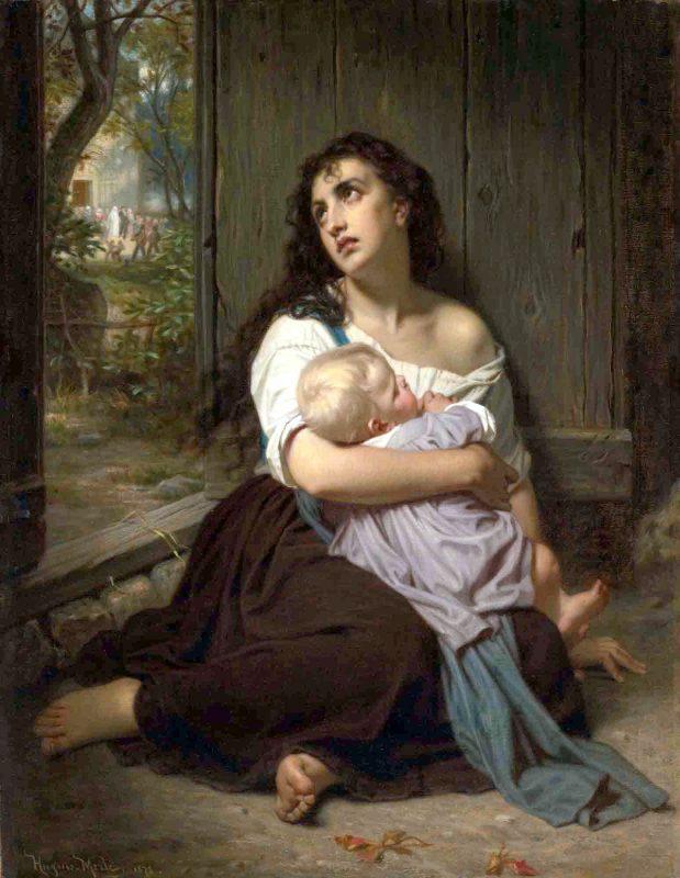 Гуго Мерле «Покинутые», 1872 год