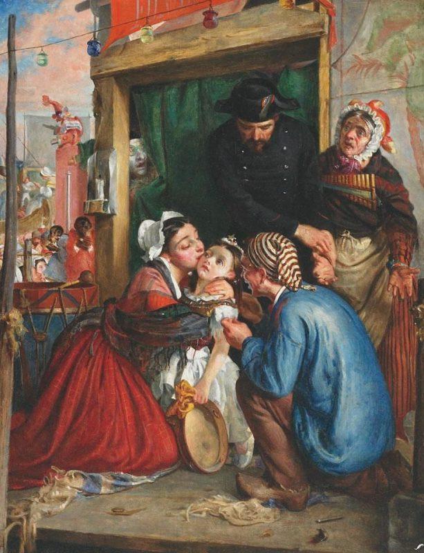Французские крестьяне находят украденного ребенка