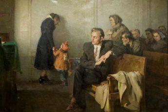 Алексей Солодовников «В советском суде», 1955 год