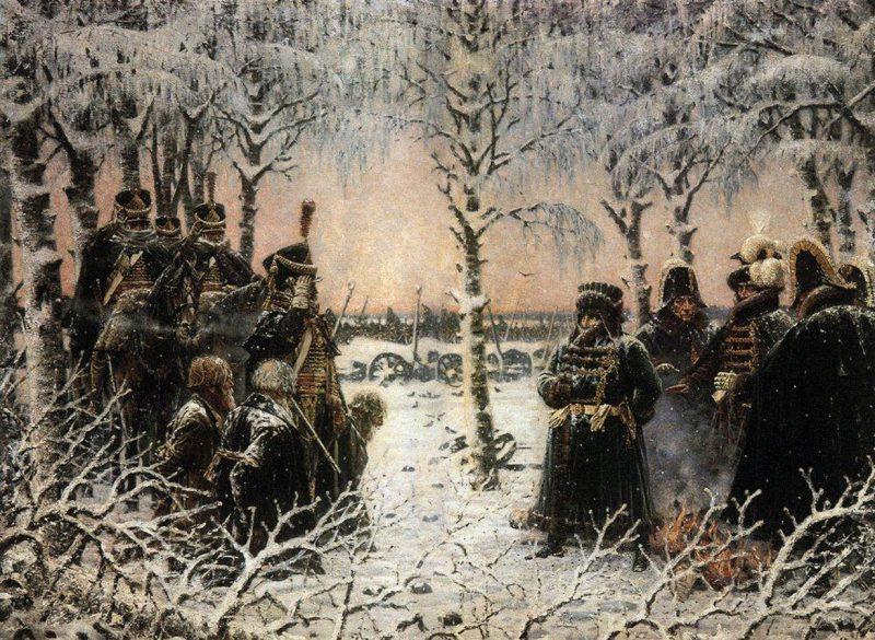 Василий Верещагин «С оружием в руках — расстрелять!», 1895 год
