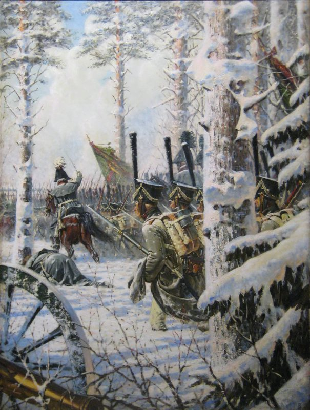 Василий Верещагин «В штыки! Ура! Ура!», 1895 год