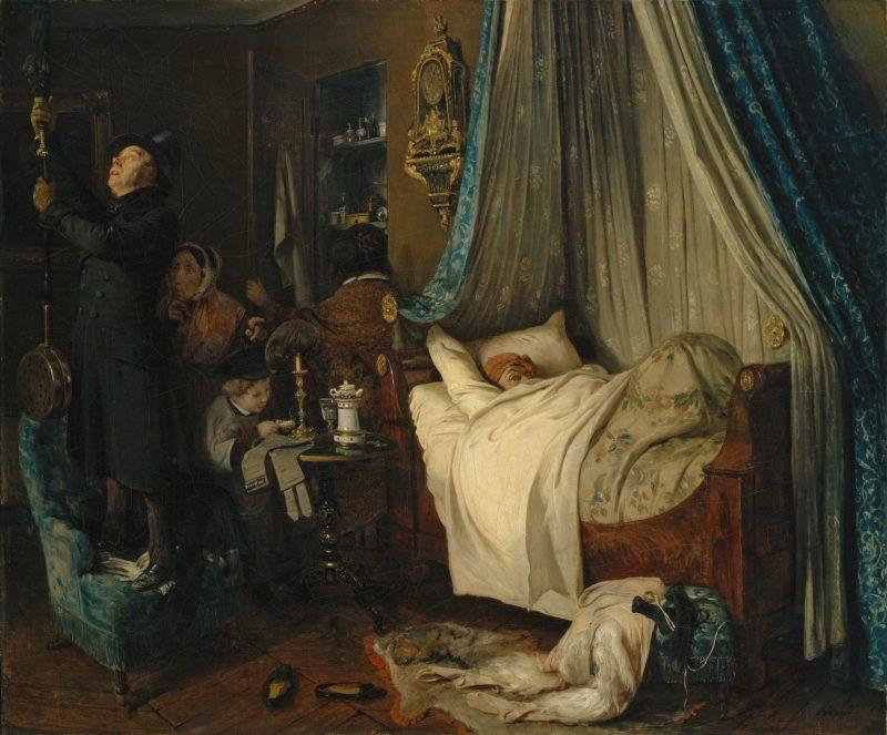 Карл Штейбен «Квартира сдаётся», 1844 год