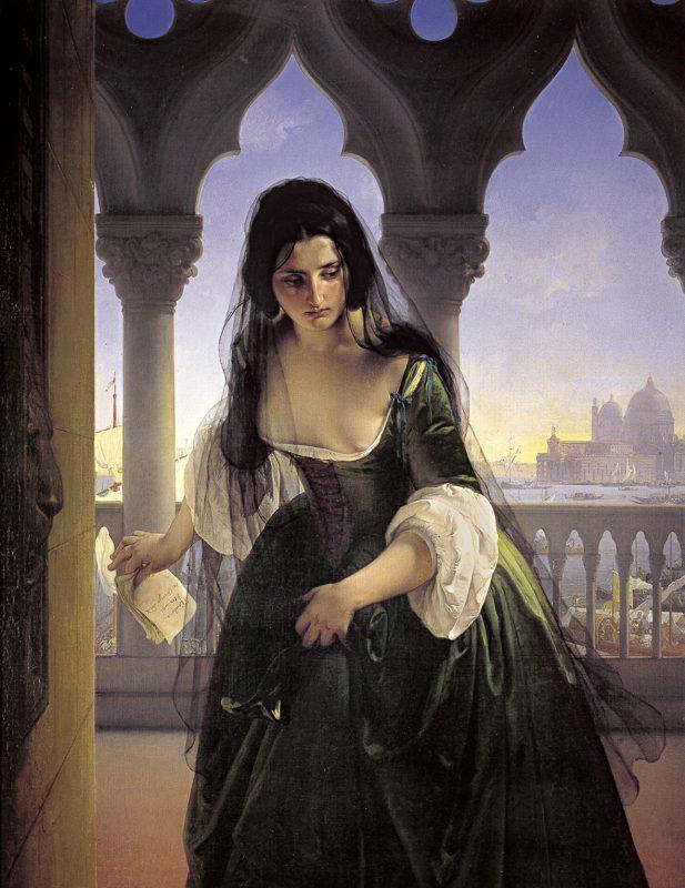 Франческо Айец «Тайное обвинение», 1848 год48 год