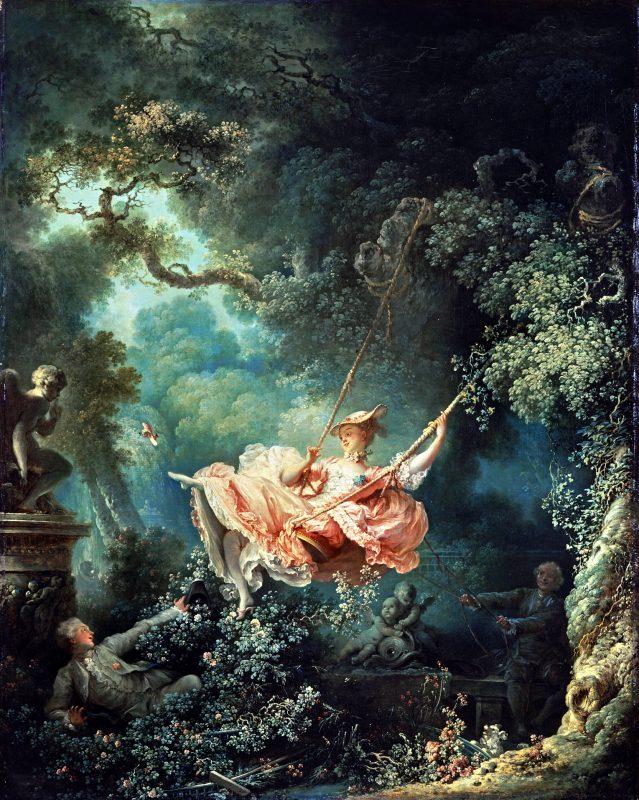 Жан Оноре Фрагонар «Качели», 1767 год