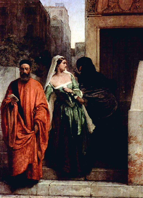 Франческо Айец «Месть соперницы», 1853 год