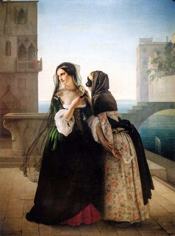 Франческо Айец «Совет о мести», 1851 год