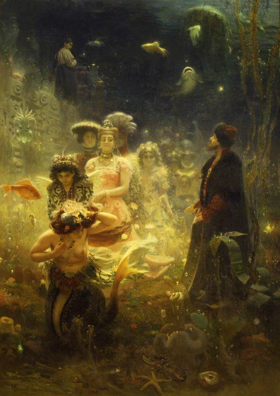 Илья Репин «Садко», 1876 год