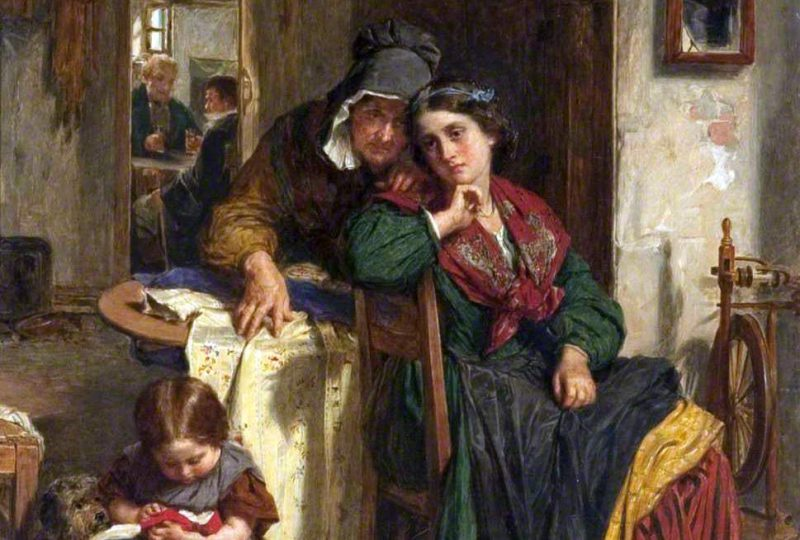 Томас Фаед «Шёлковое платье», фрагмент