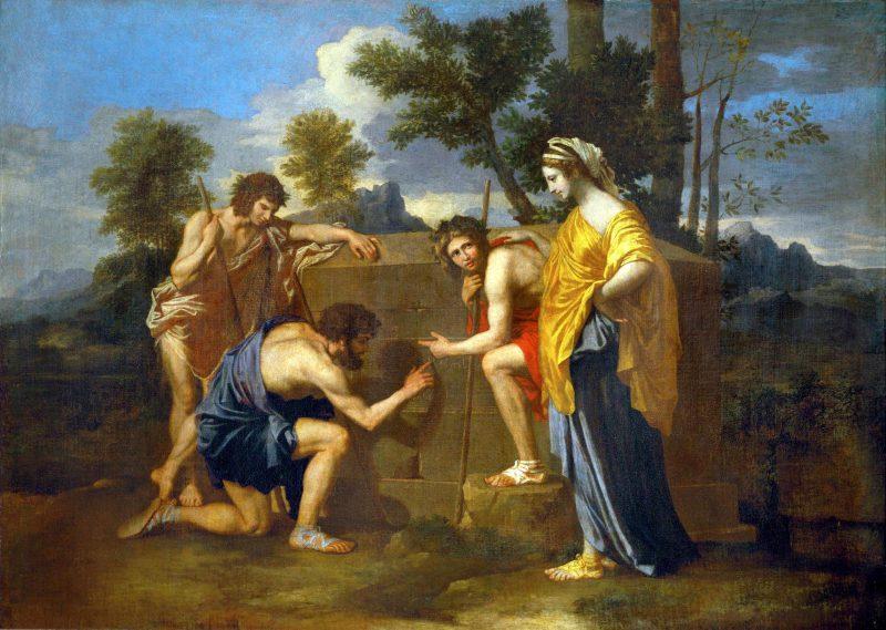 Никола Пуссен «Аркадские пастухи», 1628 год
