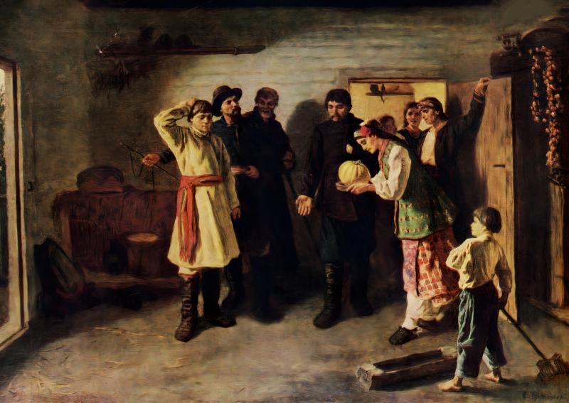 Константин Трутовский «Отказ жениху», 1882 год