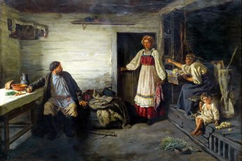 Константин Трутовский «Где была?», 1879 год