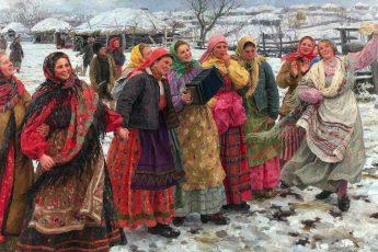 Федот Васильевич Сычков «Масленица», 1914 год