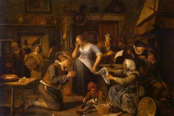 Ян Стен «Брачный контракт», 1668 год