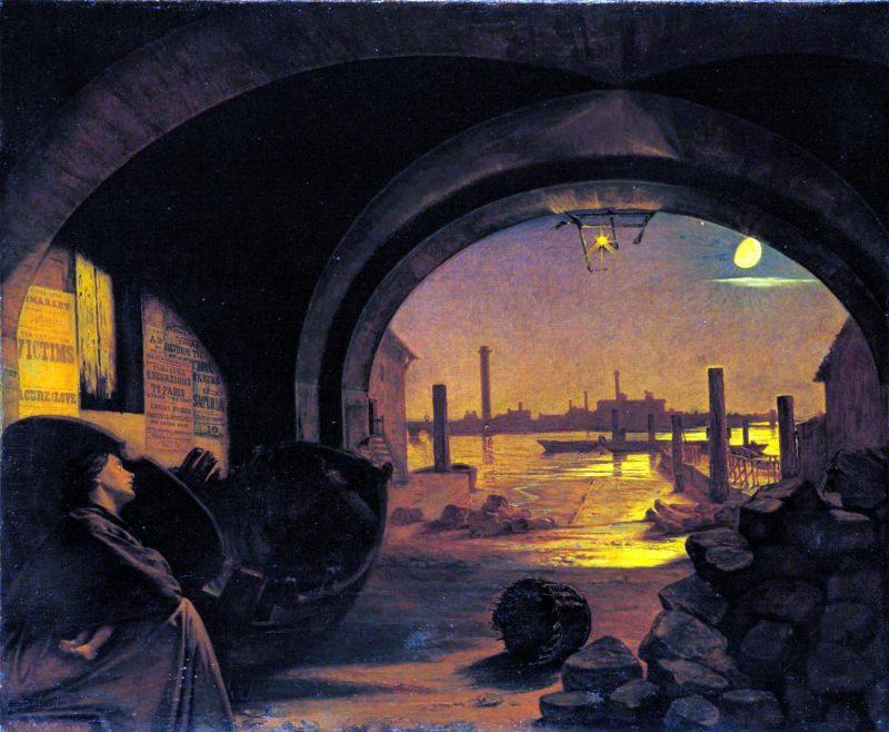 Август Эгг, третья часть триптиха «Прошлое и настоящее», 1858 год