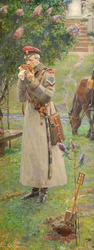 Павел Рыженко «Царские погоны» (№1 из Триптиха «Русский век»), 2007 год