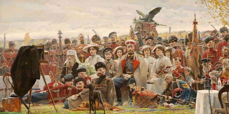 Павел Рыженко «Фотография на память» (№ 2 из Триптиха «Русский век»), 2007 год