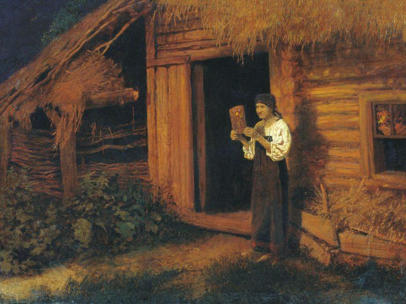 Николай Матвеев «Пожар», 1891 год