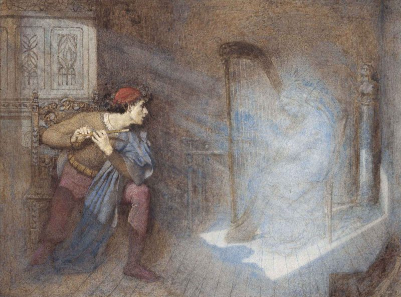 Генри Джон Сток «Перед ним возник бледный мерцающий свет», 1879 год